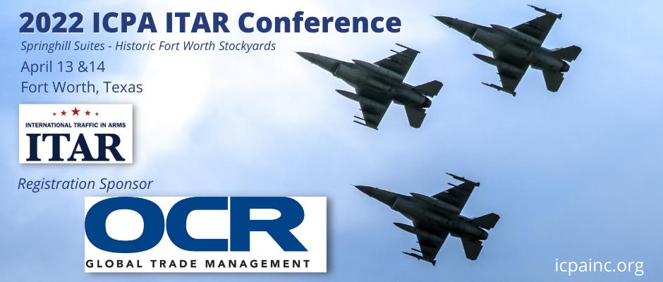 2022 ICPA ITAR Conference